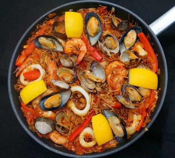 Cataplana nướng hải sản