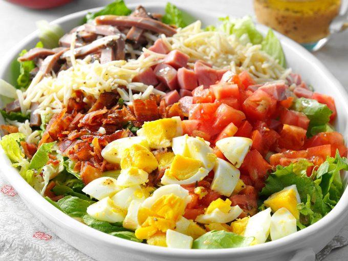 Salad Thụy Sĩ ăn kèm thịt vịt