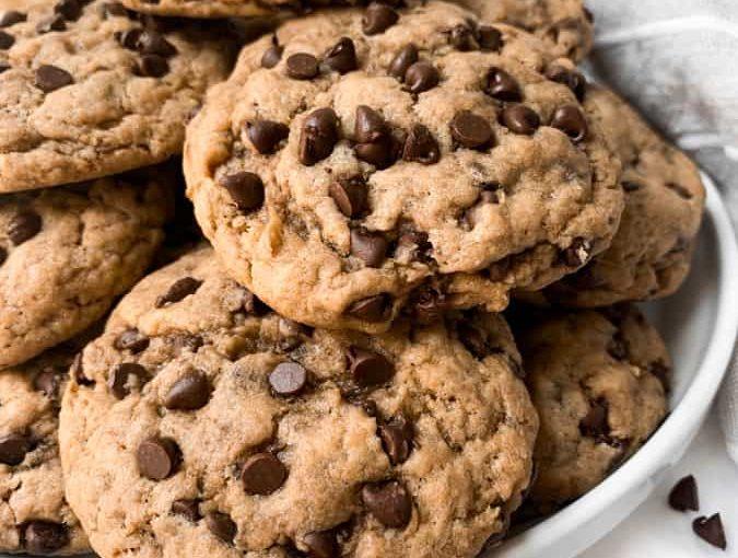 Bánh quy chocolate chip sốt táo