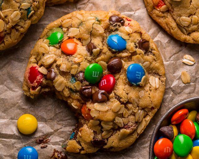 Bánh quy bơ đậu phộng m&m