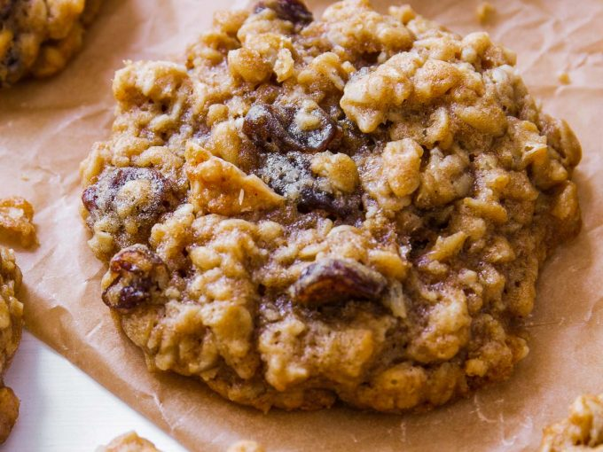 Bánh quy yến mạch nho khô (không đường)
