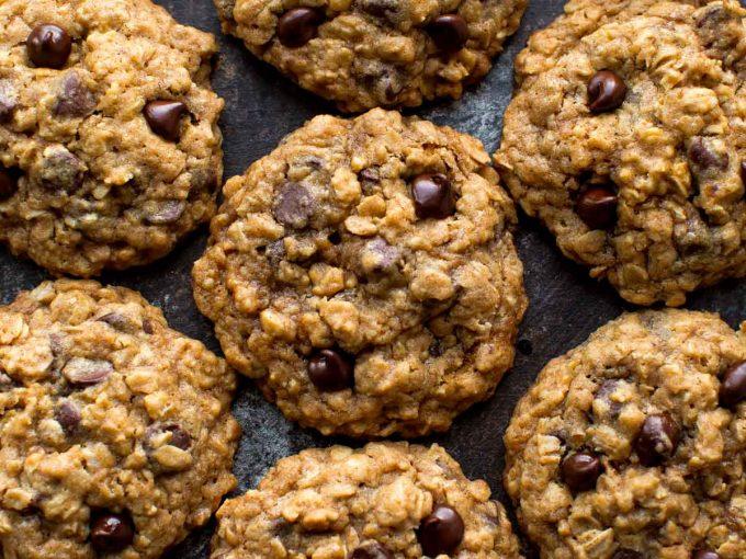 Bánh quy chocolate chip yến mạch